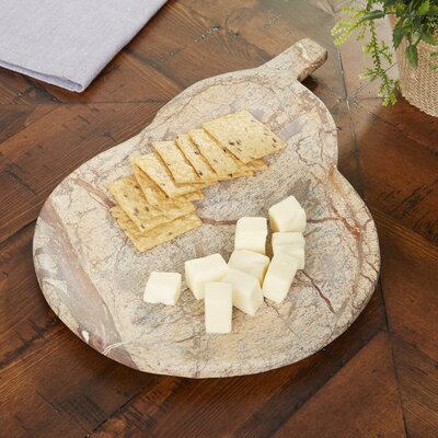 Rhonda Pear Marble Serving Board
