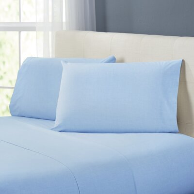 Kinney Sheet Set Color: Teal, Size: Twin