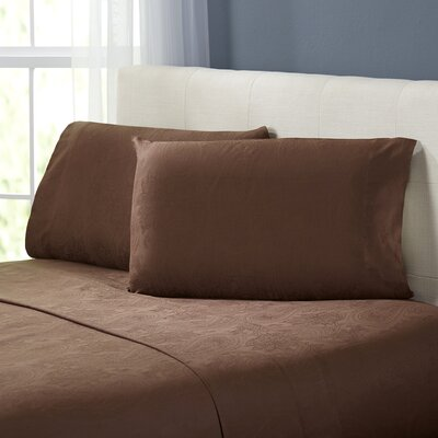 Traverse Sheet Set Color: Chocolate, Size: King