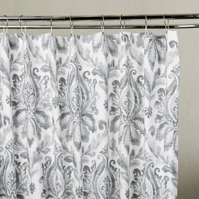 Amherst Shower Curtain Color: Gray