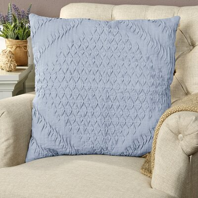 Winona Pillow Cover Size: 22 H x 22 W x 0.25 D, Color: Blue