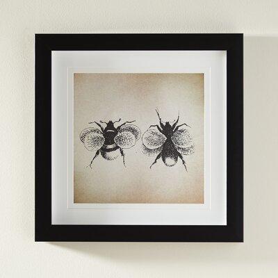 Bees Framed Print