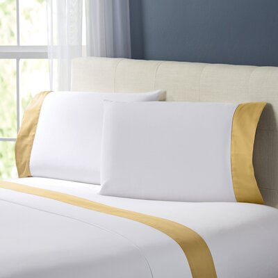 Wrenshall Sheet Set Size: Queen, Color: Gold