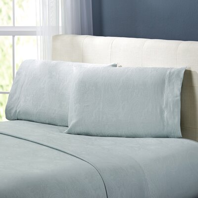 Traverse Sheet Set Size: Queen, Color: Ocean Blue