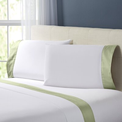 Wrenshall Sheet Set Color: Sage, Size: Twin