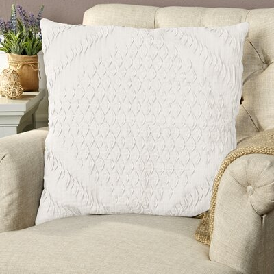 Winona Pillow Cover Size: 22 H x 22 W x 0.25 D, Color: Light Gray