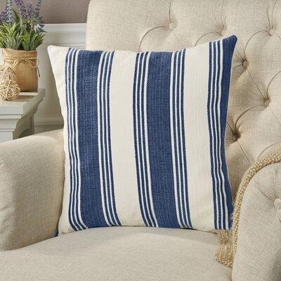 Roseanne Pillow Cover Size: 22 H x 22 W x 0.25 D, Color: BlueNeutral
