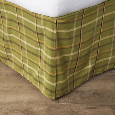 Tenby Plaid Bed Skirt