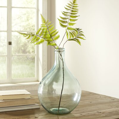European Recycled Glass Vase Color: Clear