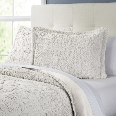 Lampson Comforter Set Size: Twin / Twin XL, Color: Ivory