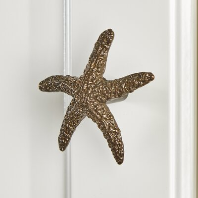 Starfish Metal Knob Finish: Burnished Bronze