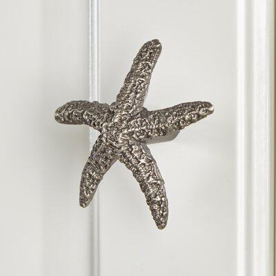 Starfish Metal Knob Finish: Pewter