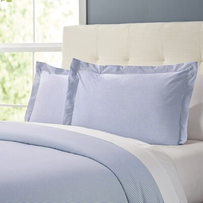 Maiden Duvet Set Color: French Blue, Size: Queen