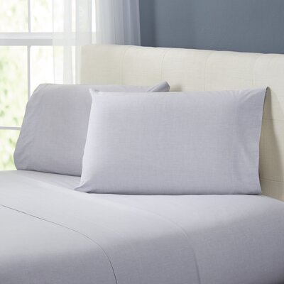 Kinney Sheet Set Color: Gray, Size: Queen
