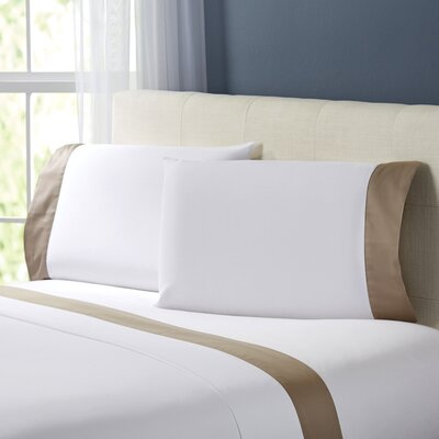 Wrenshall Sheet Set Size: King, Color: Taupe