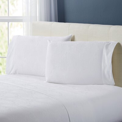 Traverse Sheet Set Size: Full, Color: White