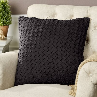 Margot Pillow Cover Size: 20 H x 20 W x 1 D, Color: Brown