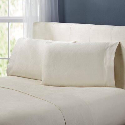 Traverse Sheet Set Size: King, Color: Ivory