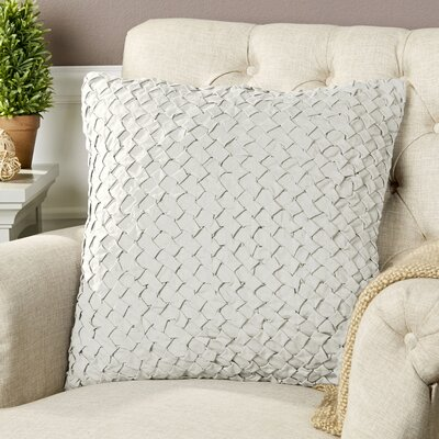 Margot Pillow Cover Size: 18 H x 18 W x 0.25 D, Color: Neutral