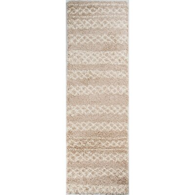 Dorian Beige Area Rug Rug Size: Rectangle 93 x 126