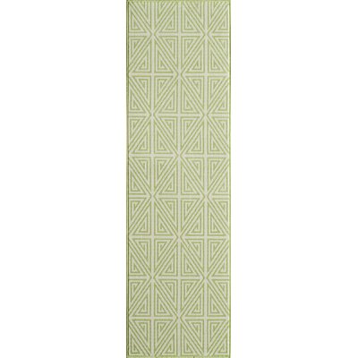 Solana Lime Green Indoor/Outdoor Area Rug Rug Size: Runner 23 x 76