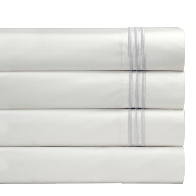 Birch Lane Basics Sheet Set Size: California King, Color: White