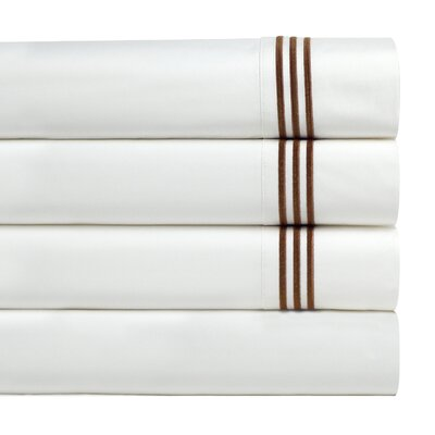 Birch Lane Basics Sheet Set Size: King, Color: Mocha