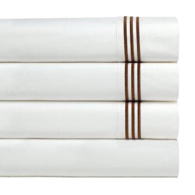 Birch Lane Basics Sheet Set Size: Queen, Color: Mocha