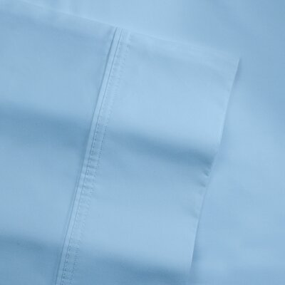 Birch Lane Classics Pillowcases Size: King, Color: Blue