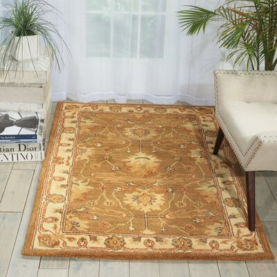 McGuire Hand-Tufted Amber Area Rug