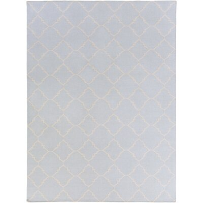 Darby Sky Hand-Woven Area Rug Rug Size: Rectangle 36 x 56