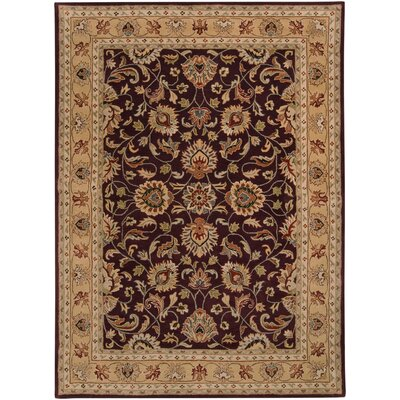 Arden Eggplant Rug Rug Size: Rectangle 8 x 11