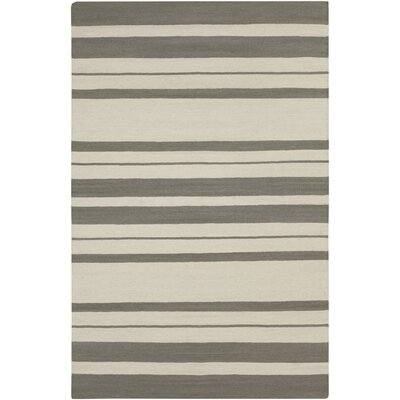 Lila Pewter Rug Rug Size: 5 x 8