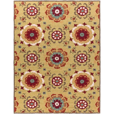 Natalia Terra Hand-Woven Indoor/Outdoor Area Rug Rug Size: Rectangle 2 x 3