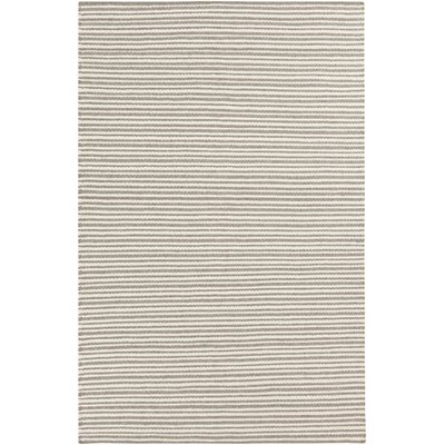 Kathryn Hand-Woven Gray Area Rug Rug Size: Rectangle 5 x 8