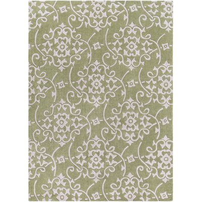 Shauna Hand-Woven Leaf Area Rug Rug Size: Rectangle 8 x 11