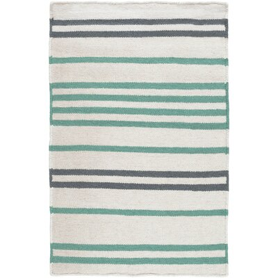 Maren Fern & Navy Rug Rug Size: Rectangle 2 x 3