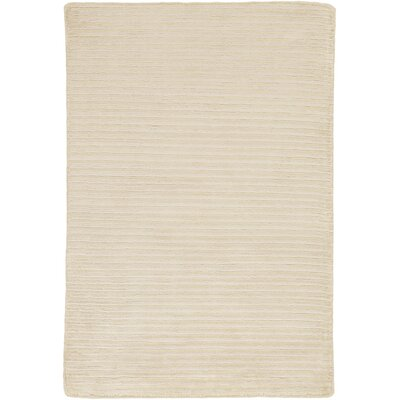Jade Hand-Woven Natural Area Rug Rug Size: Rectangle 5 x 8