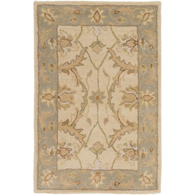 Florence Putty Rug Rug Size: 2 x 3