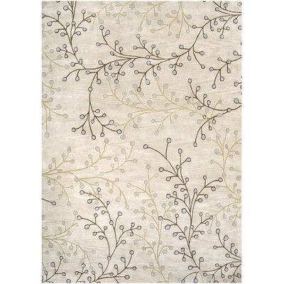 Layla Natural Rug Rug Size: 8 x 11