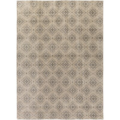 Cypress Flatweave in Tan Rug Size: 5 x 8