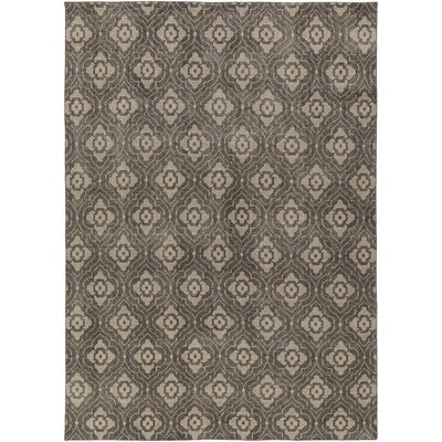 Cypress Flatweave in Grey Rug Size: Rectangle 5 x 8