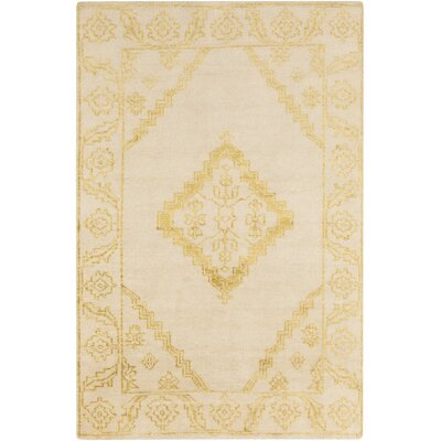 Desi Lime & Beige Rug Rug Size: Rectangle 5 x 8