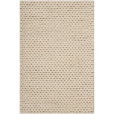 Alison Hand-Woven Natural Area Rug Rug Size: Rectangle 5 x 8