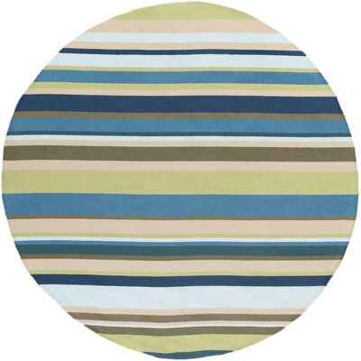 Mariela Fern Indoor/Outdoor Rug Rug Size: Round 8