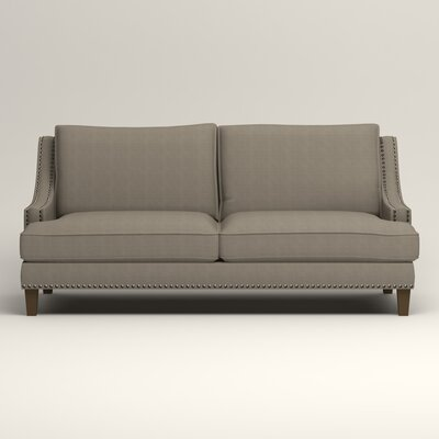 Larson Sofa with Toss Pillows Upholstery: Hilo Seagull