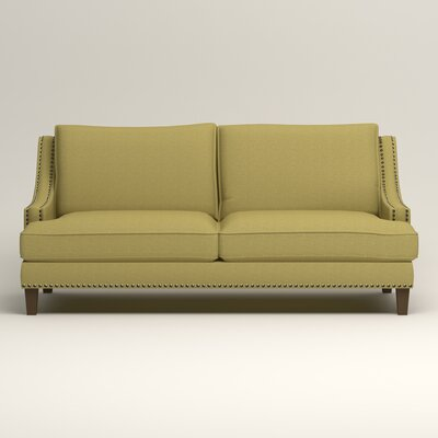 Larson Sofa with Toss Pillows Upholstery: Lizzy Kiwi