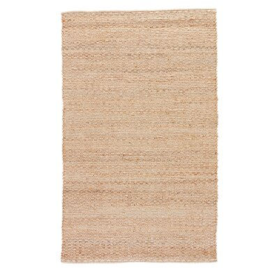 Willa Hand-Woven Jute Area Rug Rug Size: Rectangle 36 x 56