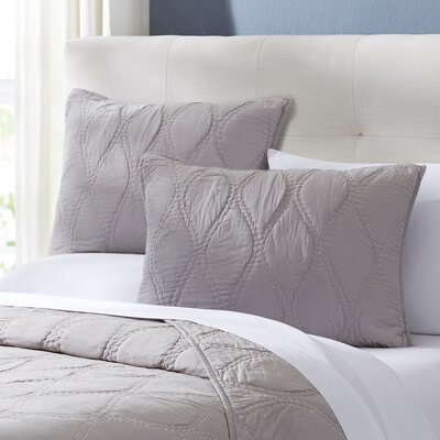 Charlotte Quilted Sham Size: Standard