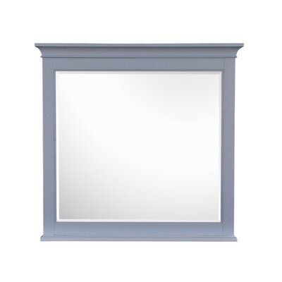 Tilton Mirror Color: Grey